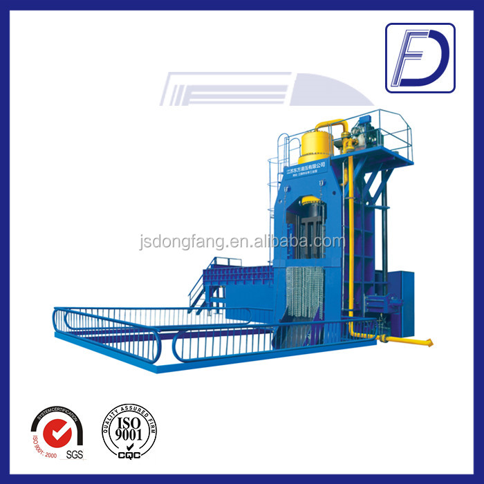 500t Metal hydraulic baler and shear