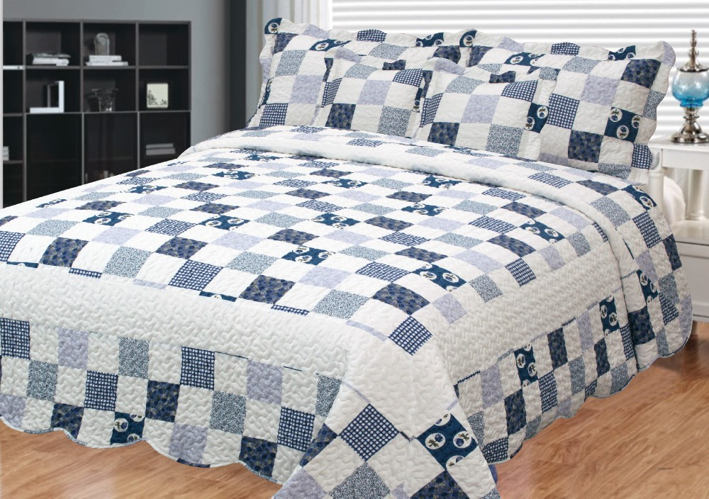 Top selling good quality adult quilt cotton quilt printed directly sale