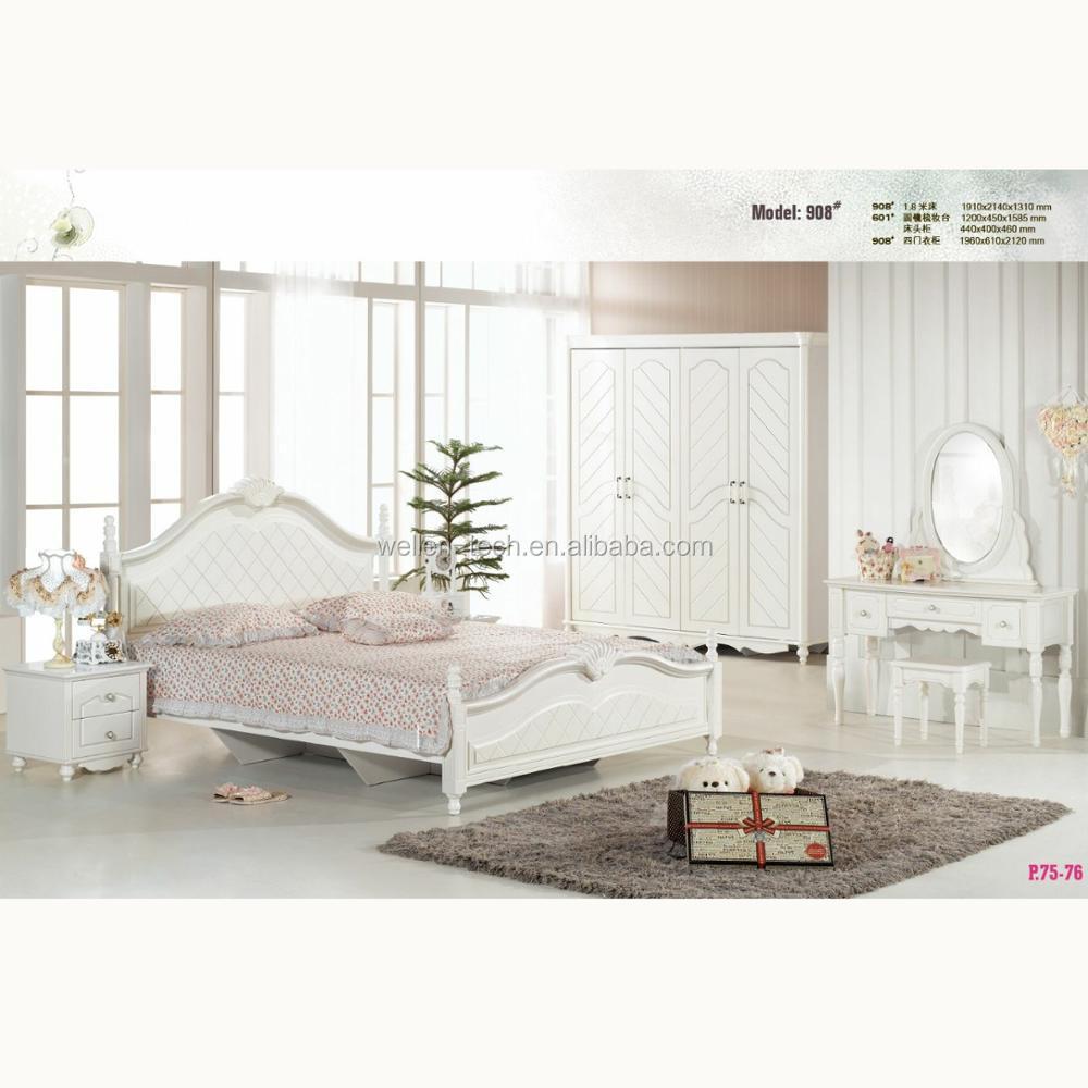 Hotsales Model Koreanantique White Bedroom Furniture Wm908 - Buy Antique  White Bedroom Furniture,Korean Style Bedroom Furniture,Classic White  Bedroom ...