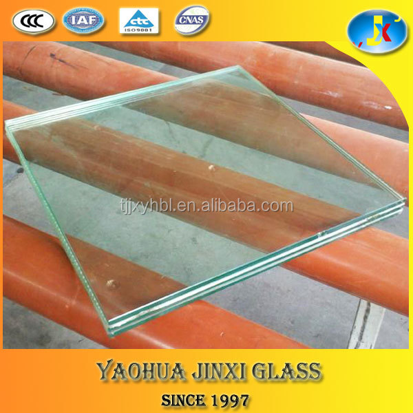 top 4mm+4mm clear laminated float galss with competitive price