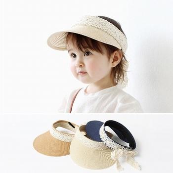 d34ffc097adc7 S4069 novo 2018 pala de sol chapéus de palha dobrável rola até crianças de  proteção chapéus
