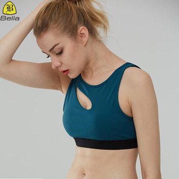 Fashionable wholesale top quality yoga clothing women sports bra