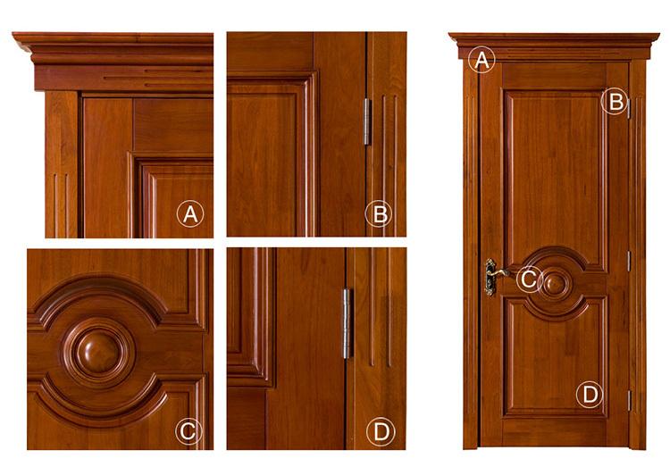 Luxury House Gate Design Single Wooden Exterior Door Used Exterior ...
