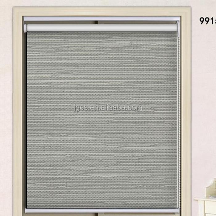 Oficina de cortina de la ventana persiana manual de cadena for Persiana claraboya