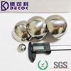 304 316 316l stainless steel semisphere sculpture Shiny hollow metal balls / hemisphere