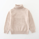 kids cashmere sweater with round neck