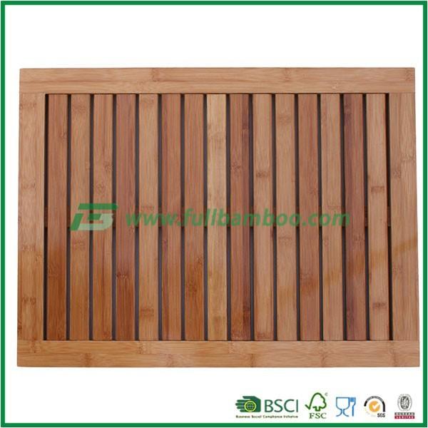 Bambus deluxe dusche boden und badematte rutschfeste - Bamboo flooring in kitchen and bathroom ...