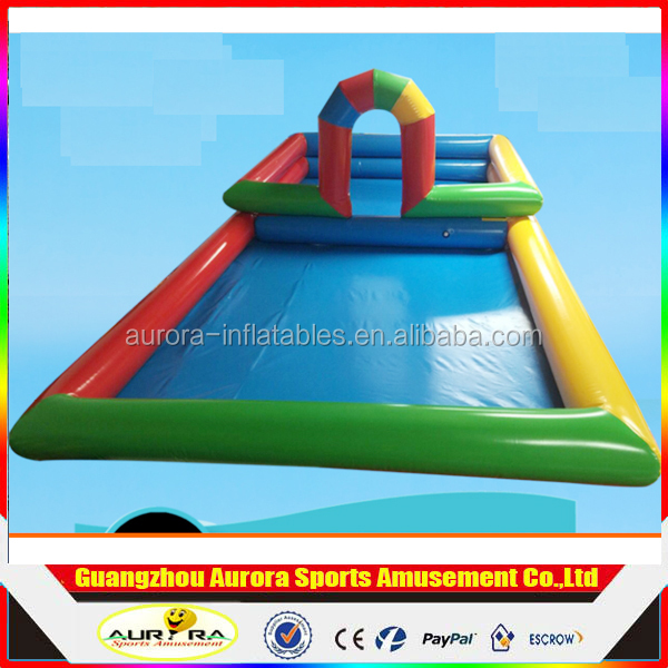 Factory Price Sales Aqua Park / Inflatable Swimming Pool/PVC Inflatable Pool As Kids Toys Pool