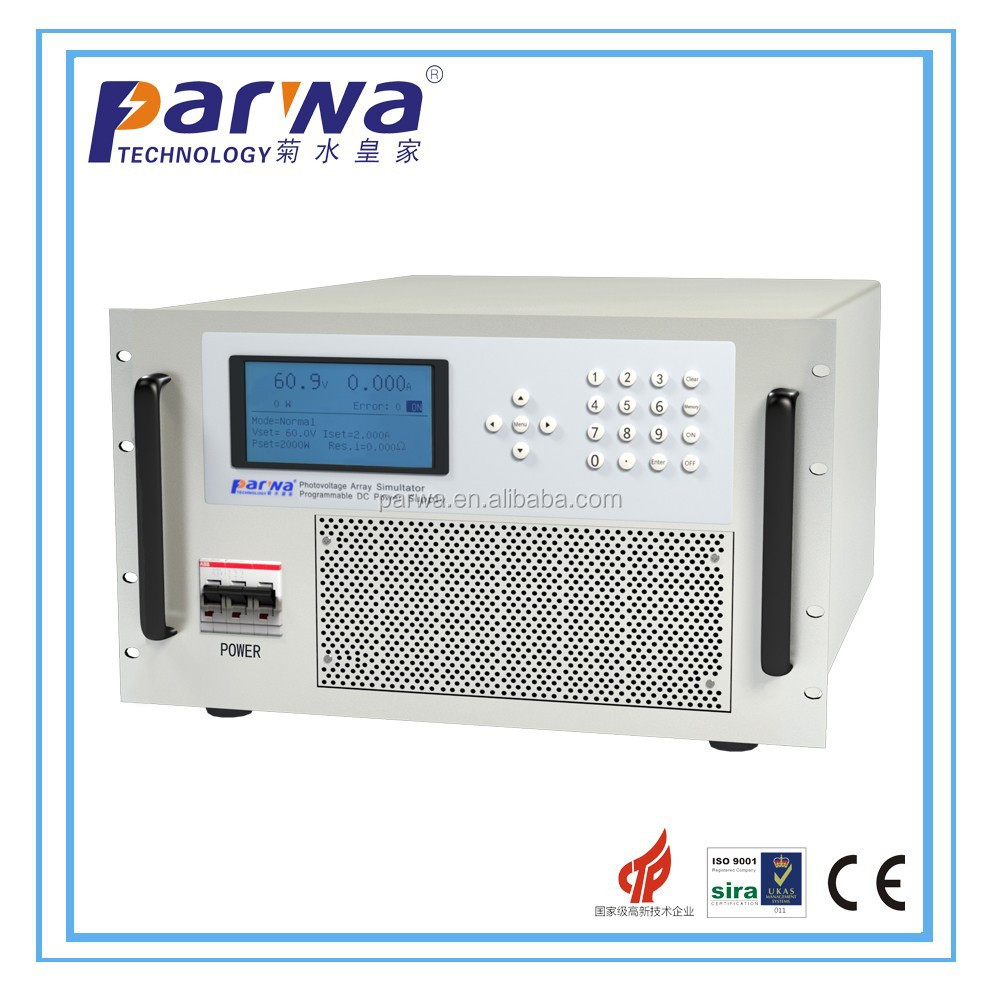 10KW Variable DC Power Source can store 9 groups and program 30 groups datas