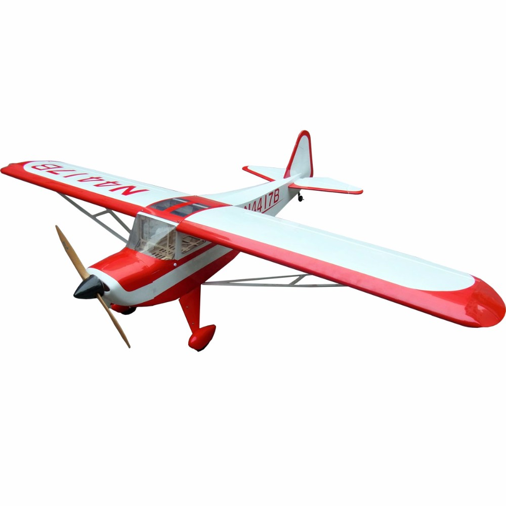 Big rc airplane model taylorcraft 90 87 4 rc plane kit balsa wood for sale