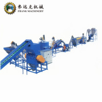 Hdpe Ldpe Pet Pp Pe Waste Used Plastic Washing Recycling Line