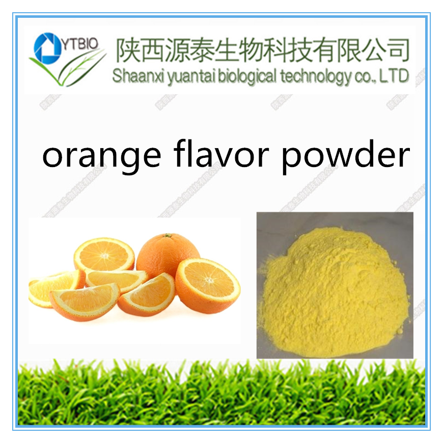 100% natural orange flavor powder //orange extract powder