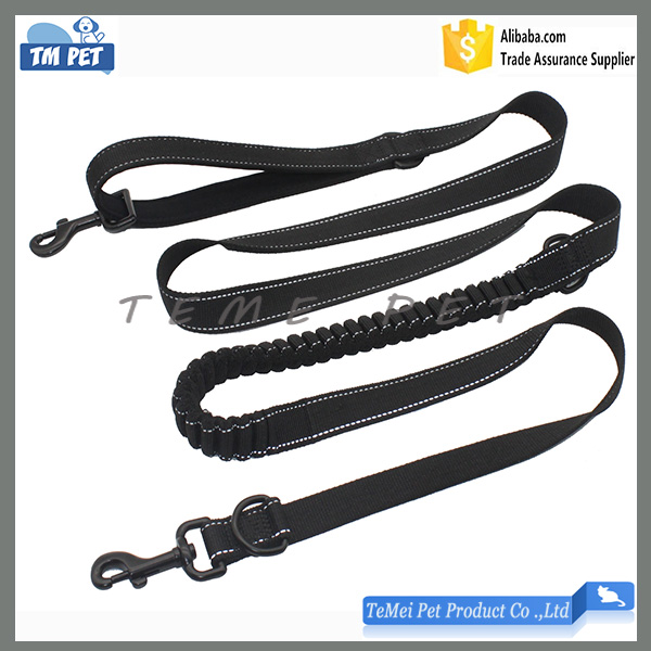 Dog Traction Rope Dual Dog Leash Neop Padded Handle