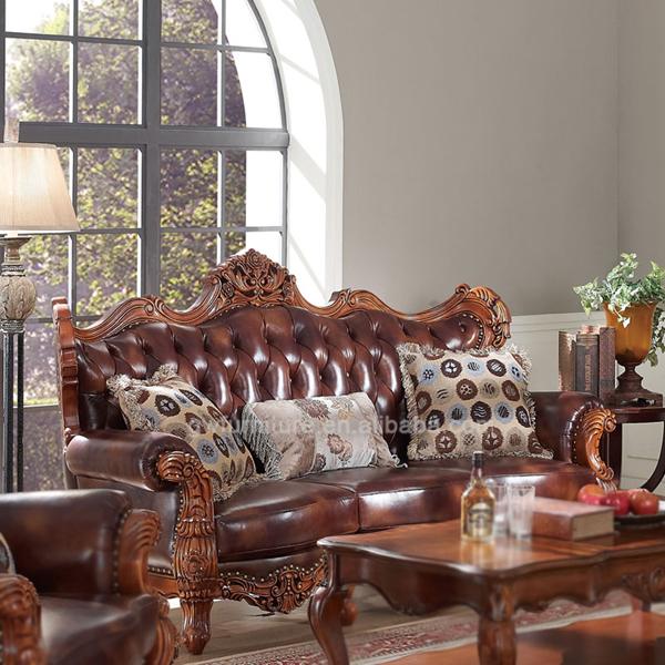 Hand Carved Wooden Antique Sofa,Antique Living Room Sofa Furniture ...