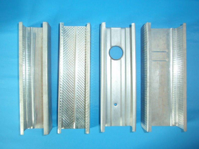 Galvanized Steel Profiles Drywall Metal Stud Plasterboard Furring ...