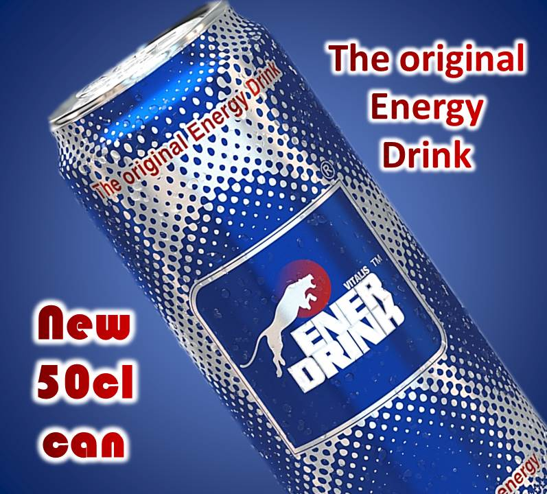 ENERDRINK Energy Drink canned 24x50cl