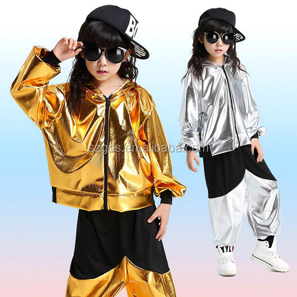 Nuevo estilo de moda de baile latino para niños ropa niños niñas Hip Hop  danza Top e17d54deef8