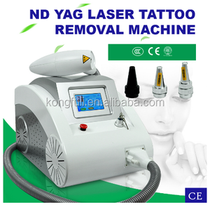 2018 professional Q Switch nd yag laser tattoo removal machine/tatto laser removal machine