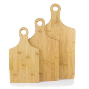 Heart Shaped Bamboo Cutting Board Chopping Board Set with Handle