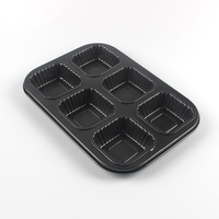 Best Value High Quality Carbon Steel Cupcake Baking Mold