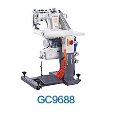 GC937-PL High-speed 3-needle Feed Off The arm Chainstitch Industrial Sewing Machine With Inner Plastic Puller