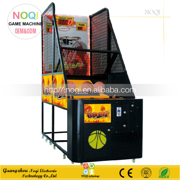 NQT-A05 The newest amusement park arcade game machine stree basketball for sale