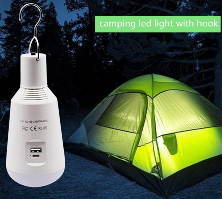 Portable LED Lantern Light Bulb Battery Powered Outdoor Camping Lights Led Lantern Lamp for Traveling Camping Hiking