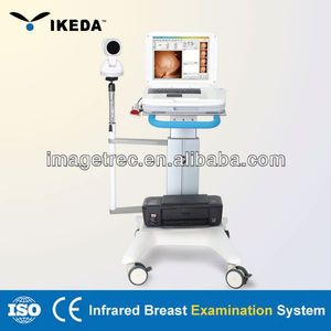 Portable Infrared Diagnosis and Test for Mastopathy with Medical Workstation