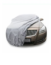 Car cover custom smart satin polyester stretch fabric full body car cover