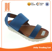 Hot Selling New Design Stylish Summer Sandals Girls Flat Sandals Design