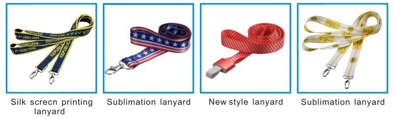 Woven Ribbon Lanyard Customized High Quality
