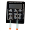 capacitive touch industrial control led membrane keypad