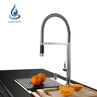 China supplier brass pull out kitchen sink mixer tap