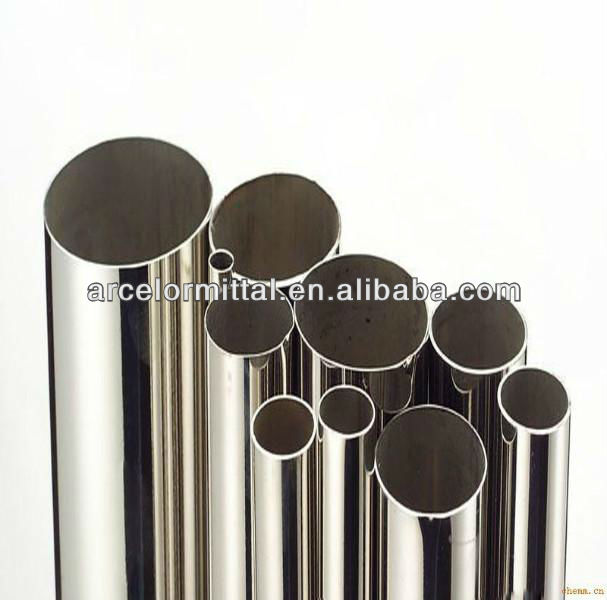 Prime 201 301 304 316 410 Welded Stainless Pipe Price(China)