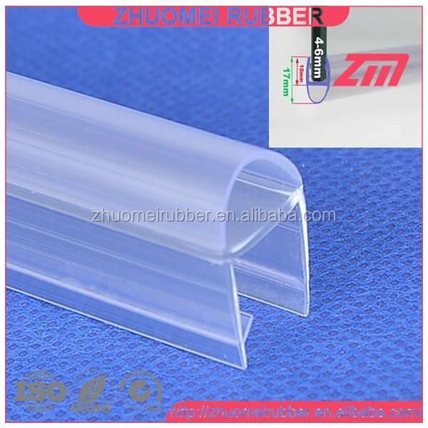Shower Door Bottom Seal Best Danco In Clear Plastic