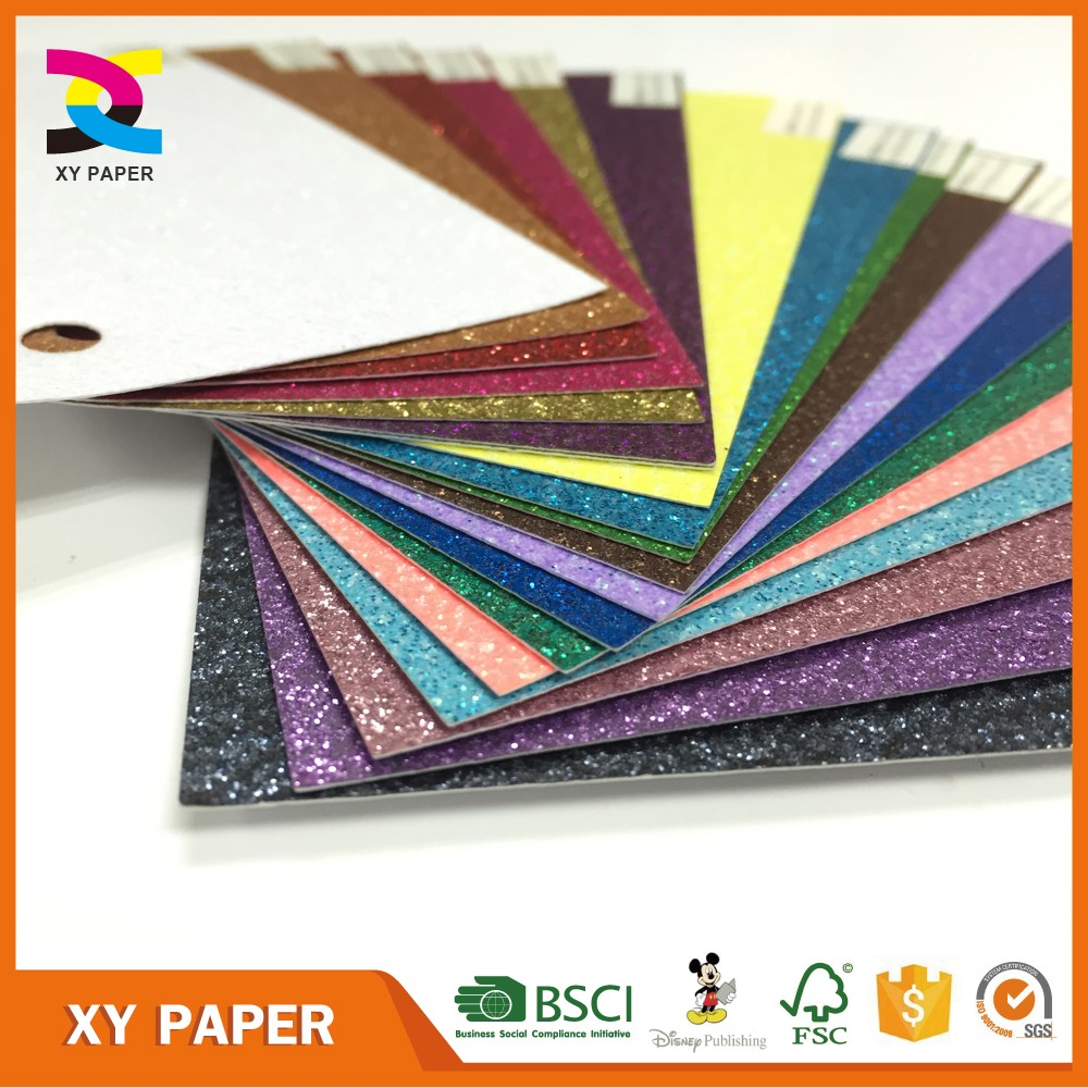Scrapbook paper cardstock - Solid Glitter Cardstock Paper Wholesale For Scrapbooking Buy Glitter Paper Glitter Cardstock Paper Glitter Paper Wholesale Product On Alibaba Com