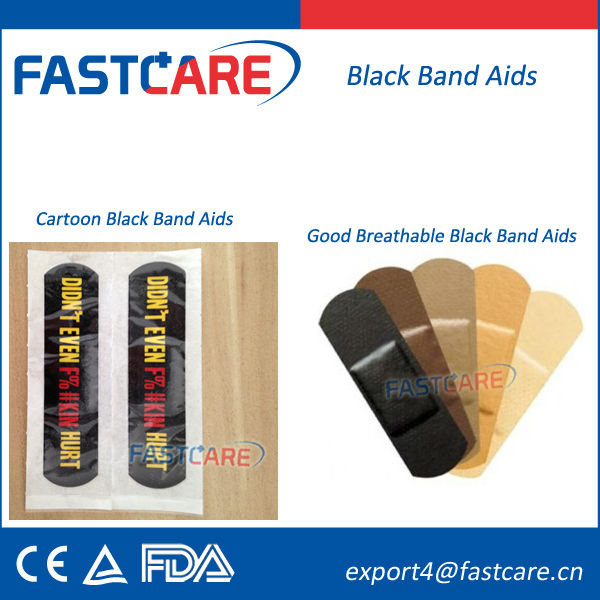 Ce Fda Custom Band Aids For Black People - Buy Black Band ...