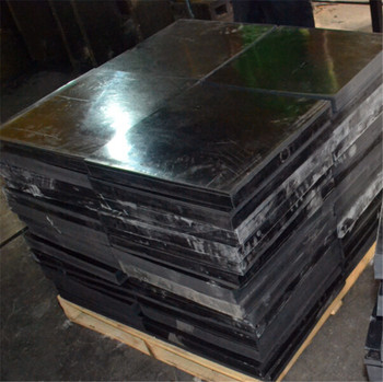 50mm Thick Rubber Plate Industrial Vulcanized Rubber Slab