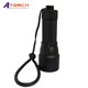 New aluminum led flashlight diving torch 1000lumens XML-U2 LED lamp torch with 18650 battery