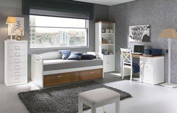 Camere Da Letto Giovanili : Giovanile camera da letto mobili compatto con letto estraibile