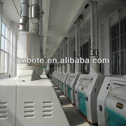 Fully automatic small flour mill 6F220-400 maize corn wheat beans flour milling machine