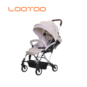Large canopy EVA 4 wheels kids baby buggy / children bicycle stroller / aluminum modern baby stroller