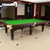Chinese 8 ball pool table 9ft snooker billiard table