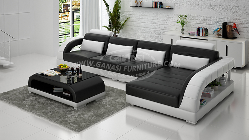Contemporary Black And White Sofa Set Latest Design. 5 Seater ... & 5 Seater Sofa Set Designs | Nrtradiant.com islam-shia.org