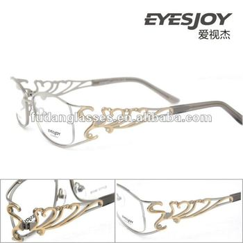 Cheap Designer Eyewear Eyesjoy 1112 Lady Crystal Optical Frames ...