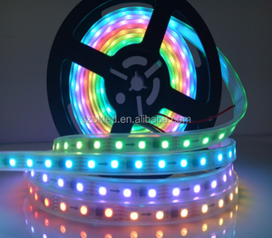 Hot Sale! Programmable WS2818 RGB DC12V IP68 digital led light strip