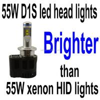 Factory Direct 55w 5200 Lumen D1s D3s Led Head Lights Conversion ...