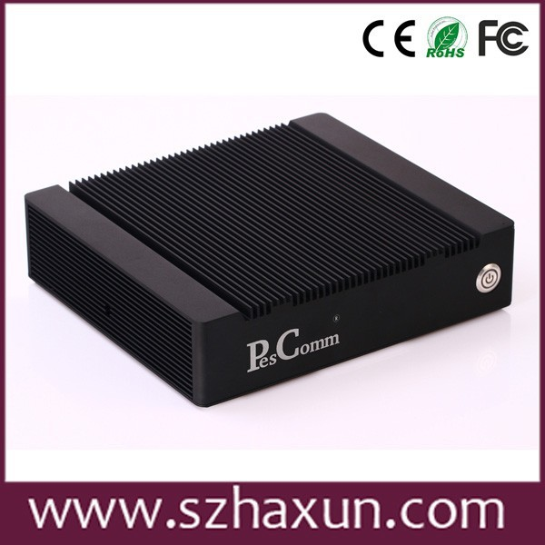 x86 embedded pc mini box pc,4 lan firewall computer with D525, MINI PC WINDOW XP
