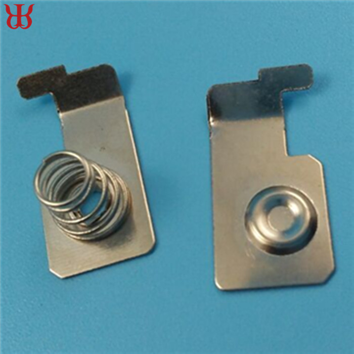 Stamping Beryllium Copper Aa Battery Spring Contact With Plating ...