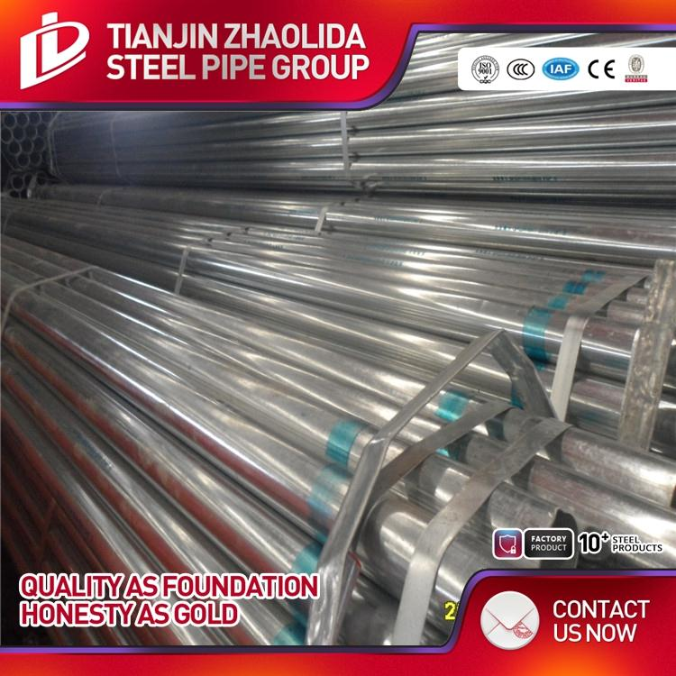 CS thin pipes galvanized electro metal conduit with factory price